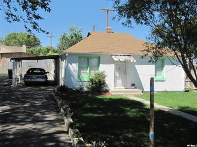 Price UT Single Family Home For Sale: $90,000