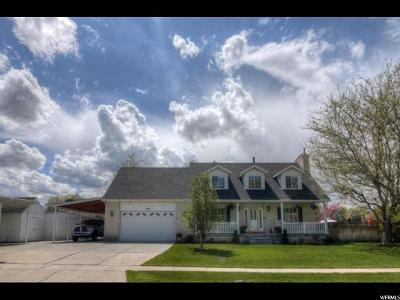 Taylorsville Single Family Home For Sale: 1095 W Turnberry Way