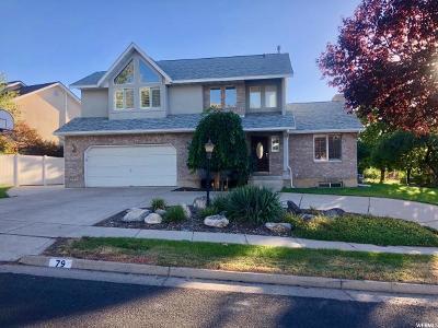 Logan Single Family Home For Sale: 79 N Quail Way E