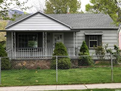Ogden Single Family Home For Sale: 3504 S Orchard Ave