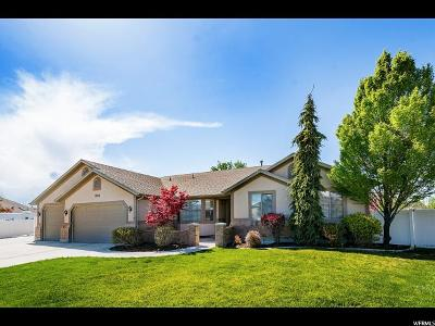 South Jordan Single Family Home For Sale: 3268 S Clarkston Cir