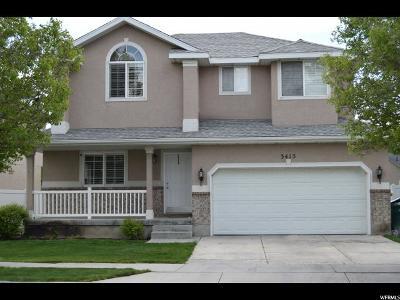 Lehi Single Family Home For Sale: 3415 N Harvest Cv