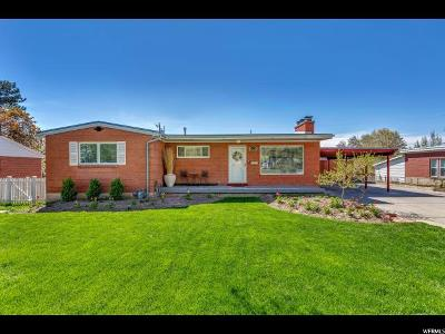 Salt Lake City Single Family Home For Sale: 3630 S 2175 E
