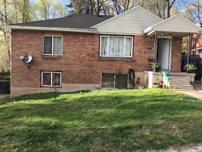 Ogden UT Single Family Home For Sale: $184,900