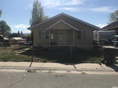 Price UT Single Family Home For Sale: $115,000