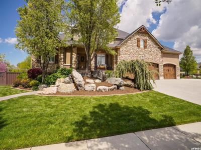 Kaysville Single Family Home For Sale: 906 W Mill Shadow Dr