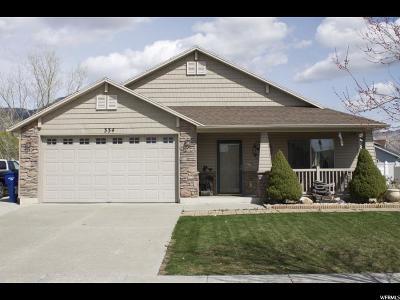 Ogden Single Family Home For Sale: 334 N 440 W