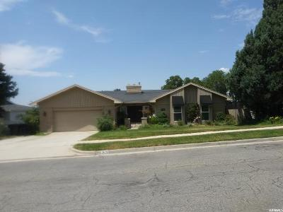 Cottonwood Heights Single Family Home For Sale: 2521 E Campus Dr S
