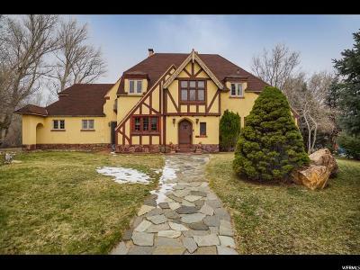 Ogden Single Family Home For Sale: 1321 E 16th