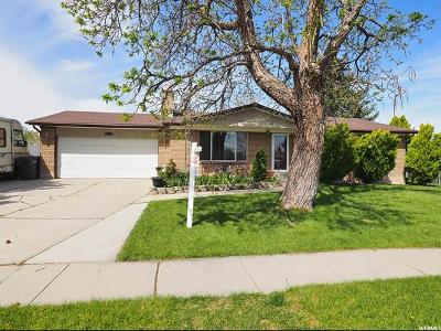 West Valley City Single Family Home For Sale: 4274 S Deno Dr S