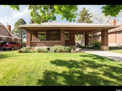 Salt Lake City UT Single Family Home For Sale: $395,000