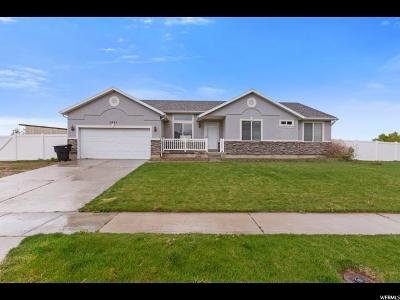 Spanish Fork Single Family Home For Sale: 3001 E Canyon Crest Dr