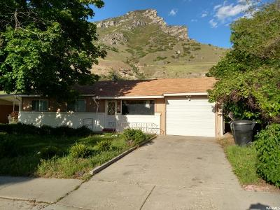 Provo UT Single Family Home For Sale: $306,000