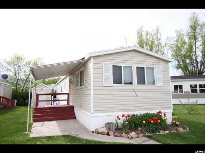 Logan Single Family Home For Sale: 458 W 750 N