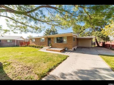 Orem Single Family Home For Sale: 335 E 1830 S