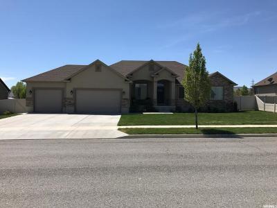 Herriman Single Family Home For Sale: 5953 W Grandpere Ave S