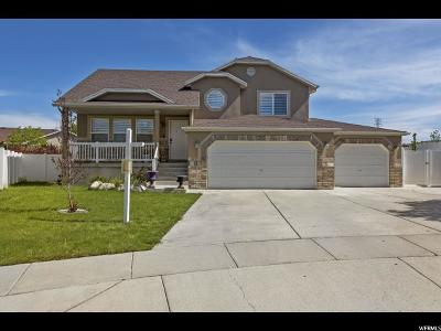 Magna Single Family Home For Sale: 3655 S Gold Shimmer Bay
