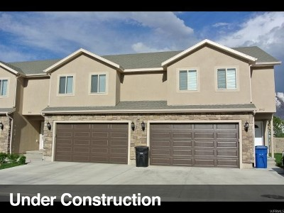 Spanish Fork Townhouse For Sale: 1151 E 870 N #21