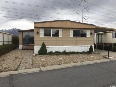 Taylorsville Single Family Home For Sale: 4657 Aspen Ln #186