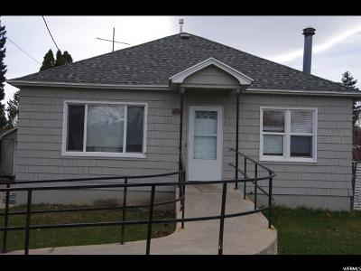 Logan Single Family Home For Sale: 374 W 400 N