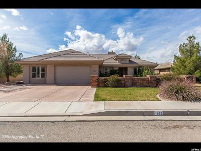 St. George Single Family Home For Sale: 1865 W 90 S