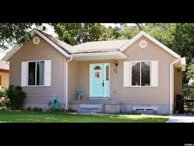Brigham City Single Family Home For Sale: 35 N 500 W