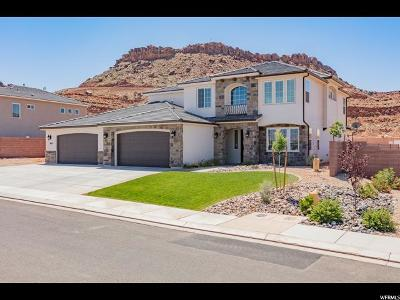 St. George Single Family Home For Sale: 3054 E Maple Mountain Dr