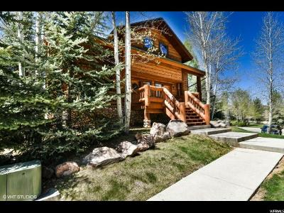 Park City Townhouse For Sale: 3988 N Timber Wolf #10A