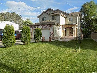 Ogden Single Family Home For Sale: 725 E 31 N