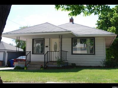 Salt Lake City UT Single Family Home For Sale: $357,000