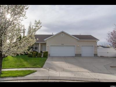 West Jordan Single Family Home For Sale: 4862 W Park Wood Ct