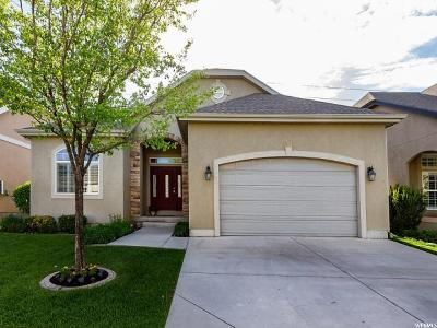 South Jordan Single Family Home For Sale: 9902 S Reunion Glen Way