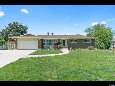 Cottonwood Heights UT Single Family Home For Sale: $499,000