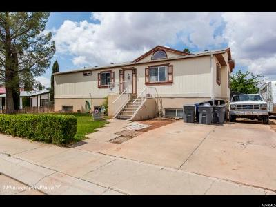 St. George Single Family Home For Sale: 1735 N 1975 W