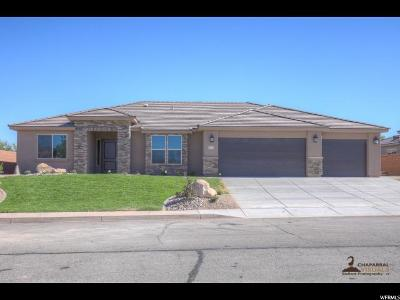 St. George Single Family Home For Sale: 2321 W Courtyard Dr #8