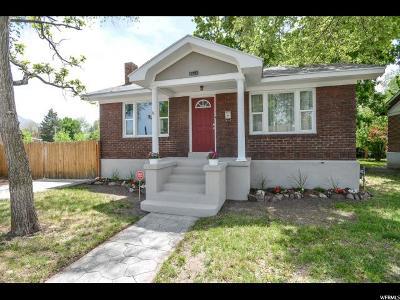 Salt Lake City UT Single Family Home For Sale: $320,000