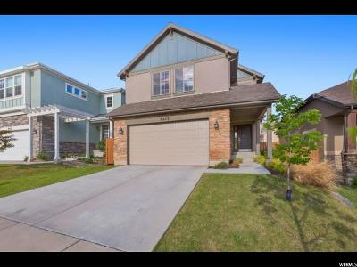 Lehi Single Family Home For Sale: 5444 N Chestnut