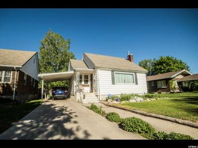 Tremonton Single Family Home For Sale: 226 S Tremont Street St