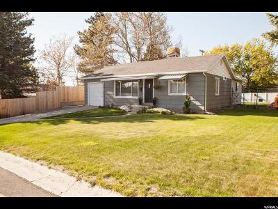 Holladay Single Family Home For Sale: 2727 E Wardway S