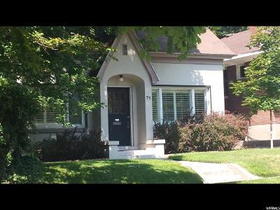 Salt Lake City UT Single Family Home For Sale: $328,000