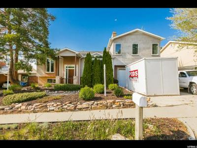 Cottonwood Heights UT Single Family Home For Sale: $485,000