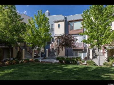 South Jordan Townhouse For Sale: 11376 S Okanogan Ln W
