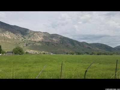 Brigham City UT Residential Lots & Land For Sale: $1,391,000