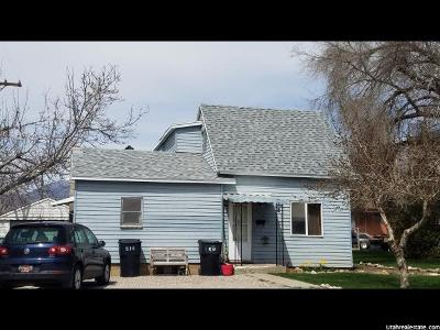 Brigham City UT Single Family Home Sold: $139,000