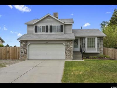 West Jordan Single Family Home For Sale: 3752 W Valleywest Dr