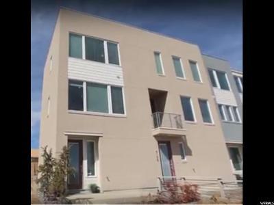 South Jordan Townhouse For Sale: 6152 W Lake Ave