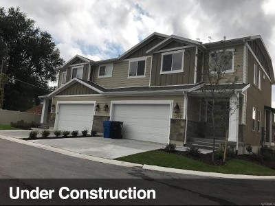 Sandy Single Family Home For Sale: 9402 S Heber Ct #8