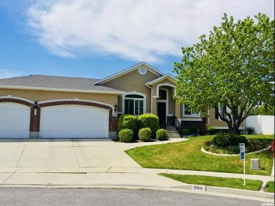 West Jordan Single Family Home For Sale: 9184 S Morning Lily Ct W