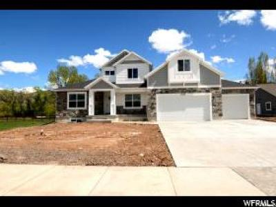 Nibley Single Family Home For Sale: 4024 S Cottonwoods Ct E #10