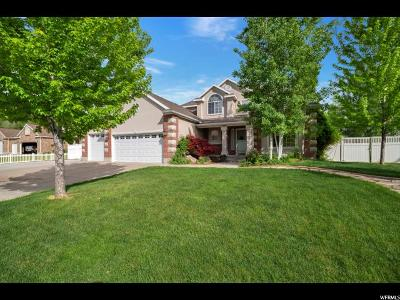 Kaysville Single Family Home For Sale: 715 W Mill Shadow S
